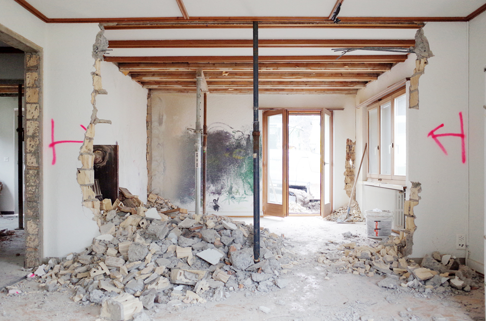 Sch ne umbauten von nijo architekten for Holzkubus haus